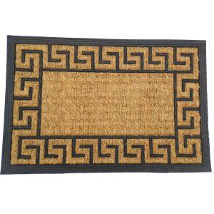 Gumis kókusz lábtörlő 40x60 cm - Görög mintával
