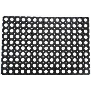 Rácsos gumi lábtörlő 40x60 cm