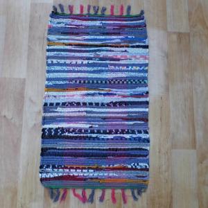 Színes pamut rongyszőnyeg 40x70 cm [Cikksz. 20.001]