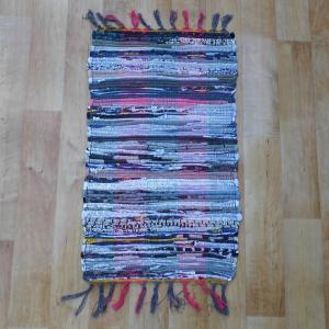 Színes pamut rongyszőnyeg 40x70 cm [Cikksz. 20.006]