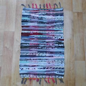Színes pamut rongyszőnyeg 40x70 cm [Cikksz. 20.007]