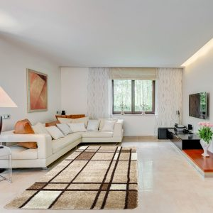 Modern szőnyeg 120x170 cm - Garlic F952 - enteriör