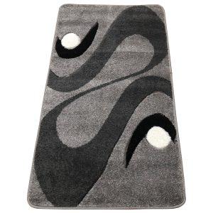 Modern szőnyeg 60x220 cm - Szürke 2331