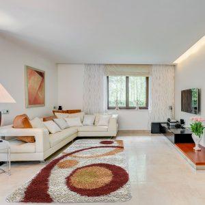 Shaggy szőnyeg 80x150 cm -Terra 700 - enteriör