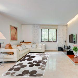Modern szőnyeg 60x110 cm - Bone-Beige 1182A - enteriör