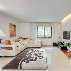 Modern szőnyeg 60x110 cm - Bone-L.Beige 2572A - enteriör