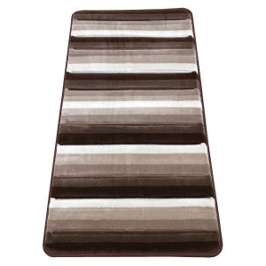 Modern szőnyeg 60x110 cm - Brown-L.Brown 1966A