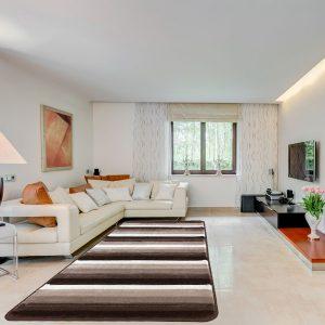Modern szőnyeg 60x220 cm - Brown-L.Brown 1966A - enteriör