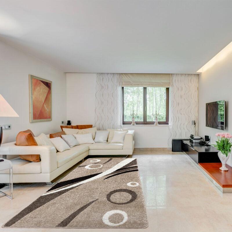 Modern szőnyeg 80x150 cm - Karamell 9842 - enteriör