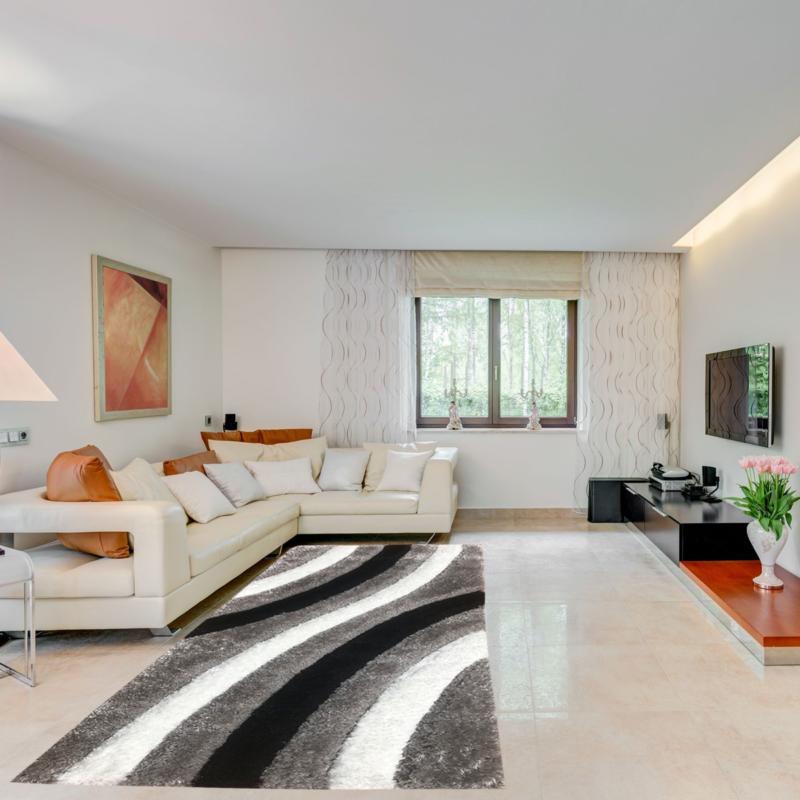 Exkluzív shaggy szőnyeg 160x220 cm - enteriör305