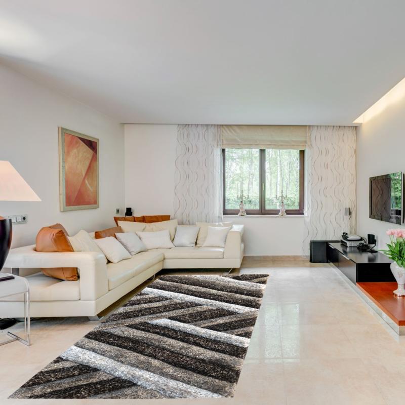 Exkluzív shaggy szőnyeg 80x150 cm - enteriör 302