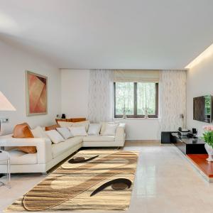 Modern szőnyeg 160x220 cm - Cream 2331 - enteriör