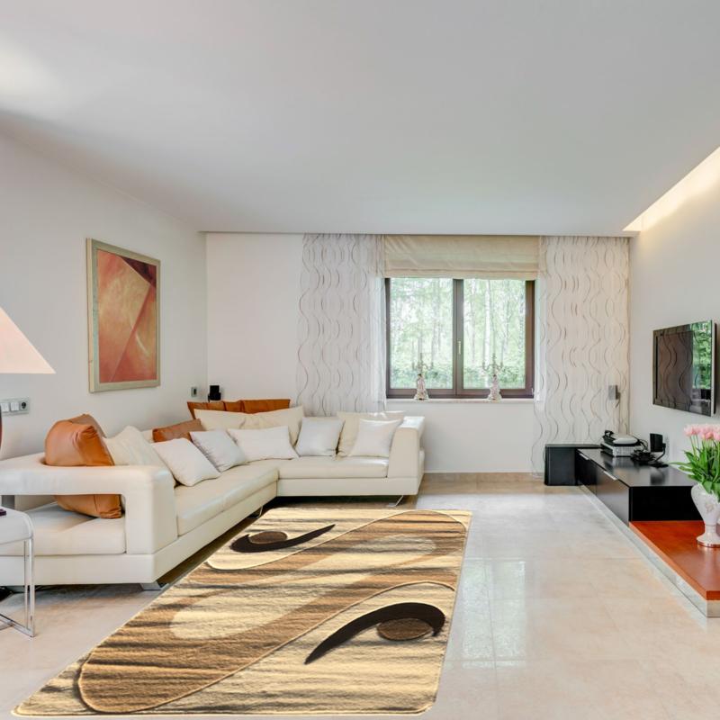 Modern szőnyeg 200x280 cm - Cream 2331 - enteriör