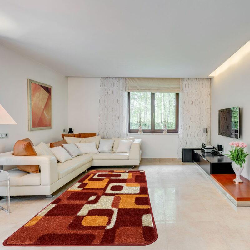 Modern szőnyeg 80x150 cm - Terra 0196 - enteriör
