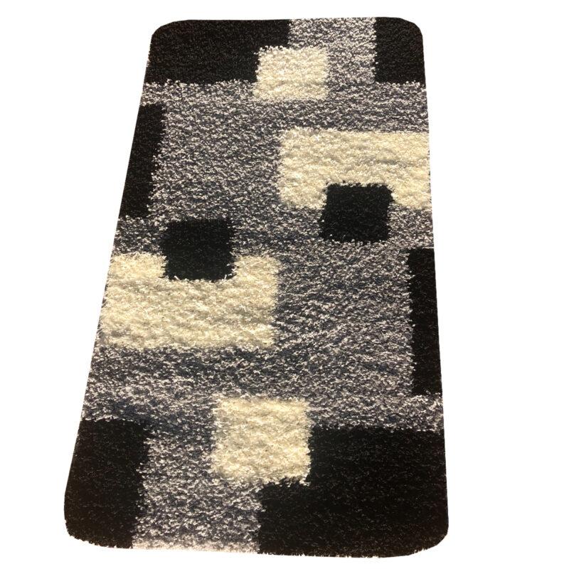 Shaggy szőnyeg 200x280 cm - Black, Grey 051