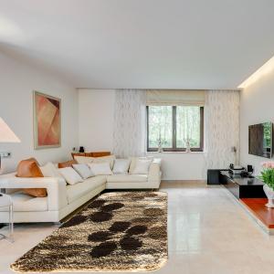 Shaggy szőnyeg 80x150 cm - Beige 890 - enteriör