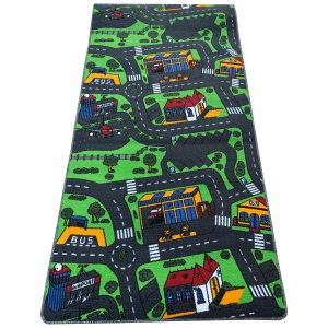 Gyerekszőnyeg 150x200 - Autópályás szőnyeg