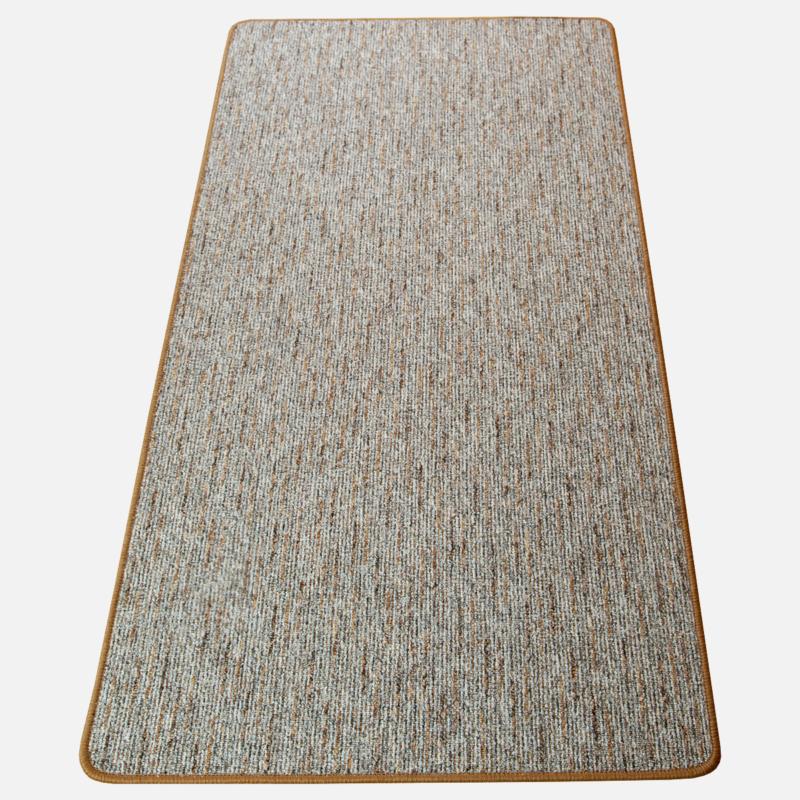 Szegett szőnyeg - Szürke-barna színben vonalas mintával - teljes 2