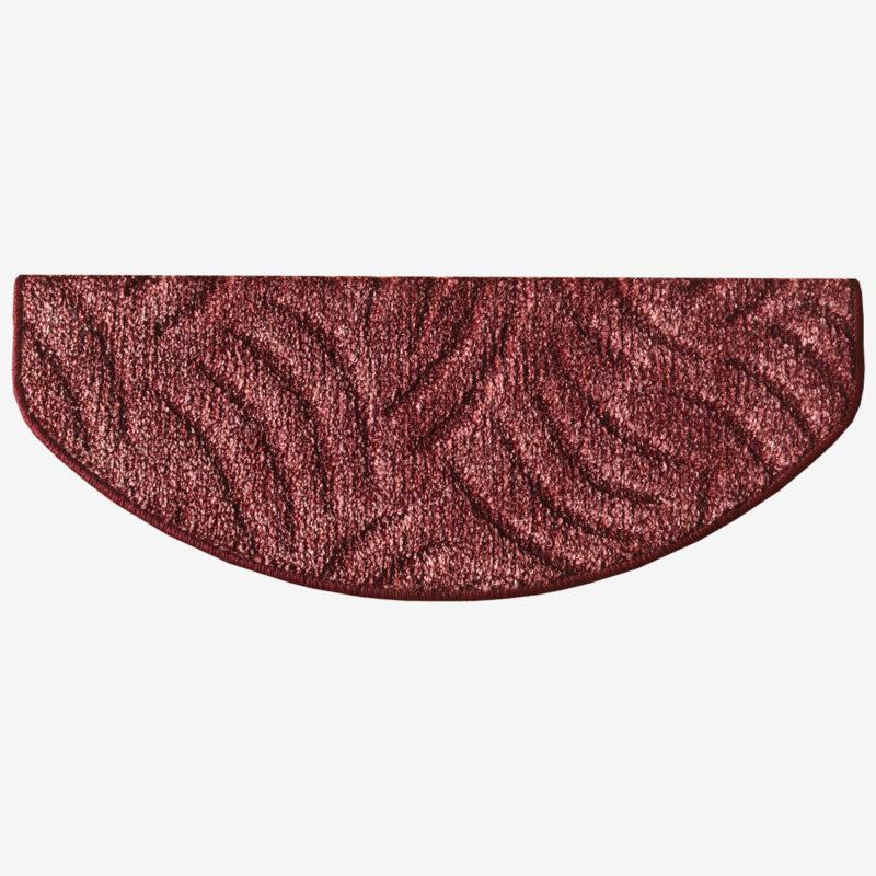 Lépcsőszőnyeg 65x24 cm - Mályva színben karmolt mintával