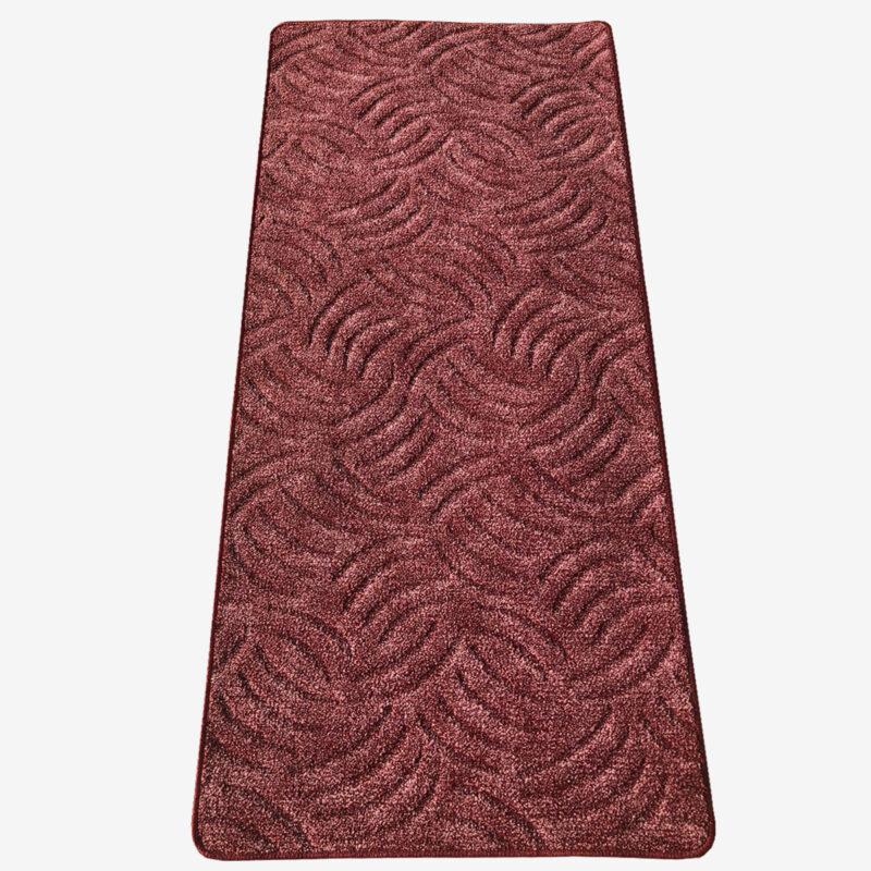 Szegett szőnyeg - Mályva színben karmolt mintával