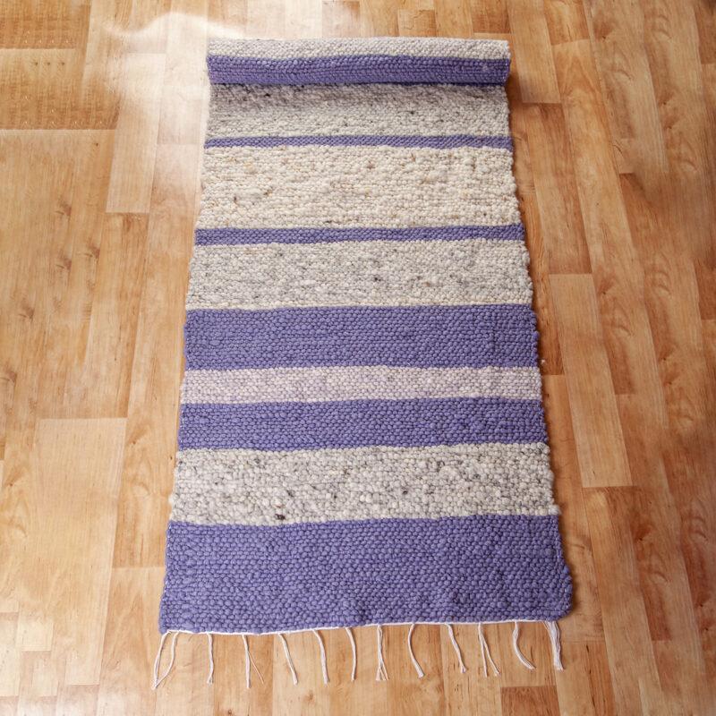 Gyapjú szőnyeg 70x200 cm - Cikksz. 9118