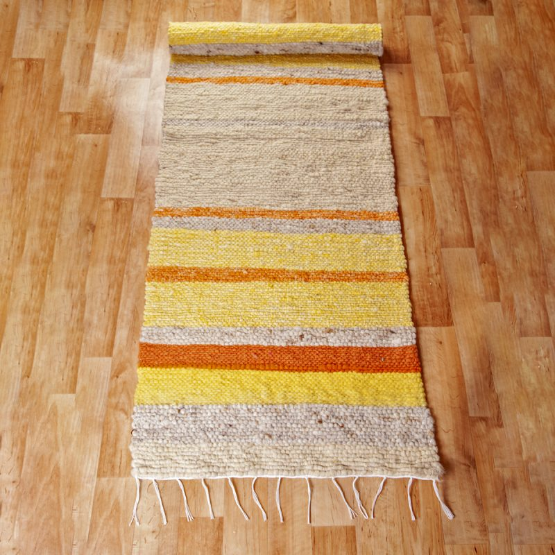 Gyapjú szőnyeg 70x200 cm - Cikksz. 9128