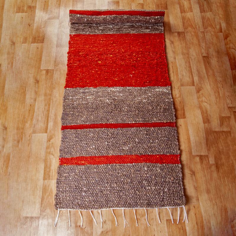 Gyapjú szőnyeg 70x200 cm - Cikksz. 9129