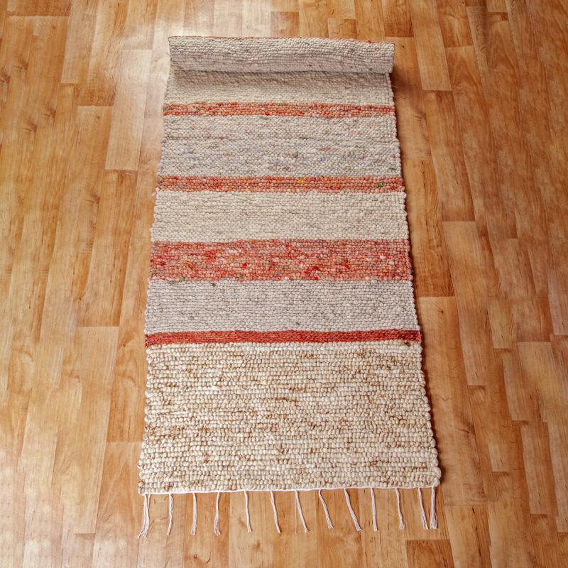 Gyapjú szőnyeg 70x200 cm - Cikksz. 9131