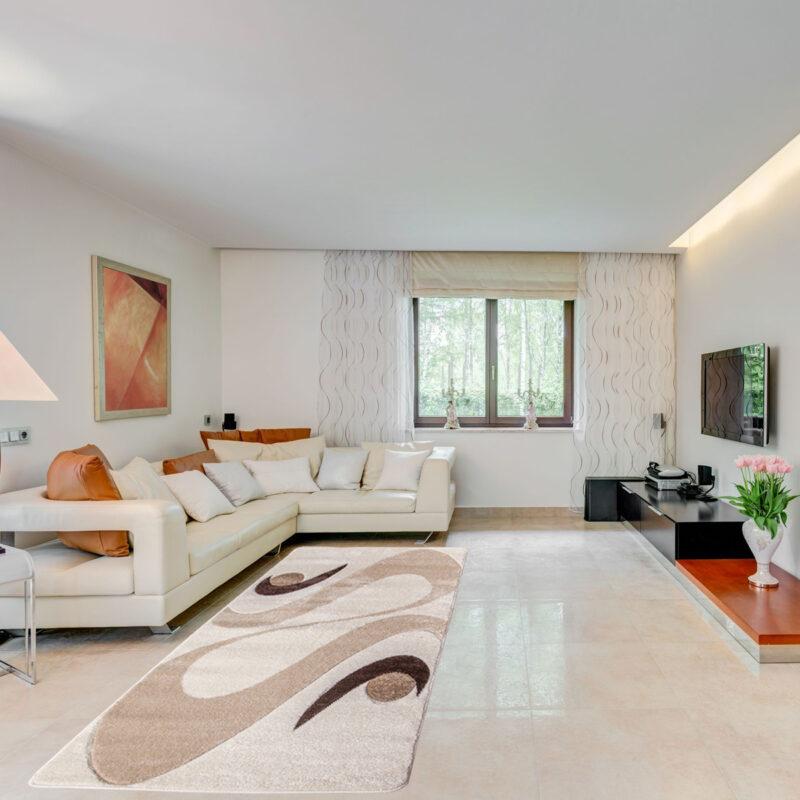 Modern szőnyeg - Cream 2331 - enteriör