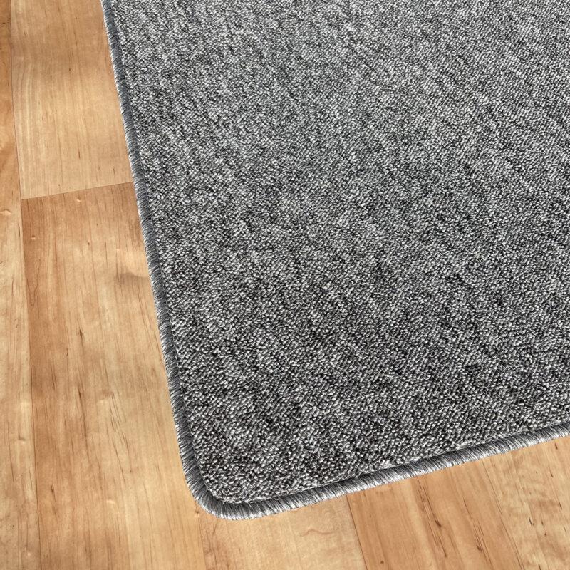 Szegett szőnyeg - Szürke színben, melírozott mintával - sarok